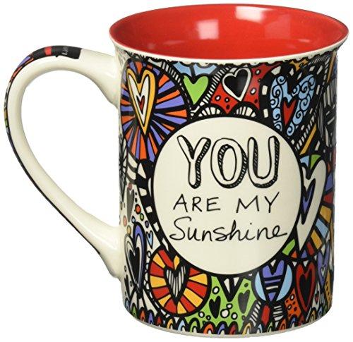 Enesco 4054456 Cuppa Doodle Multicolor
