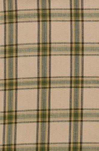 Curtains Plaid Green (Park Designs Pine Lodge Panel, 72 x 63)