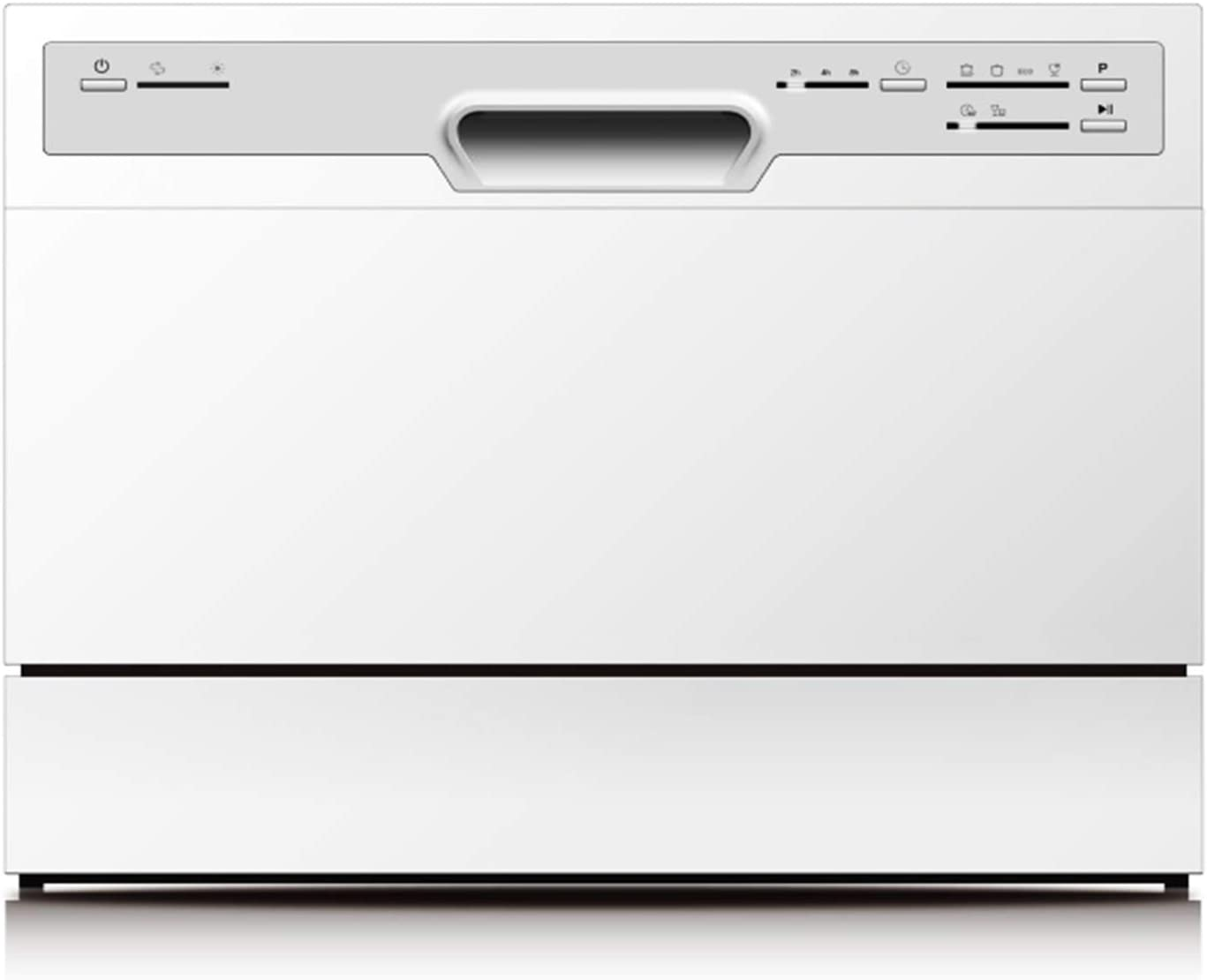 PKM GSP 600 - Lavavajillas pequeño (6 compartimentos), color blanco