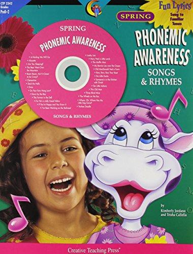 Spring Phonemic Awareness Songs & Rhymes