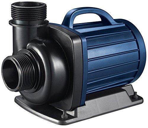 AQUAFORTE – Pompa per Filtro laghetto dm6500 12 Volt. 6,5 m³ h, Altezza 4 m, 50 Watt