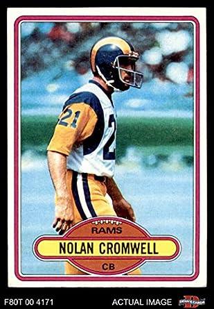 1980 Topps   423 Nolan Cromwell Los Angeles Rams (Football Card) Dean s  Cards 8 9688d637e