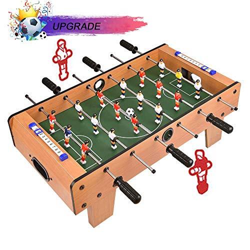 Portzon Foosball Table, Mini Tabletop Billiard Game...
