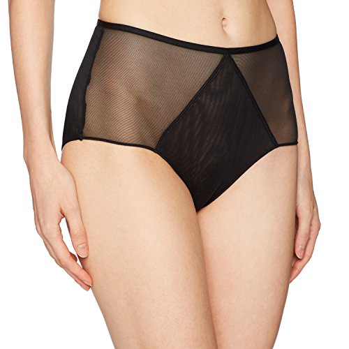 Aubade Women's Nudesence Highwaisted Brief, Noir, XS