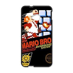 Super Mario Black HTC M7 case