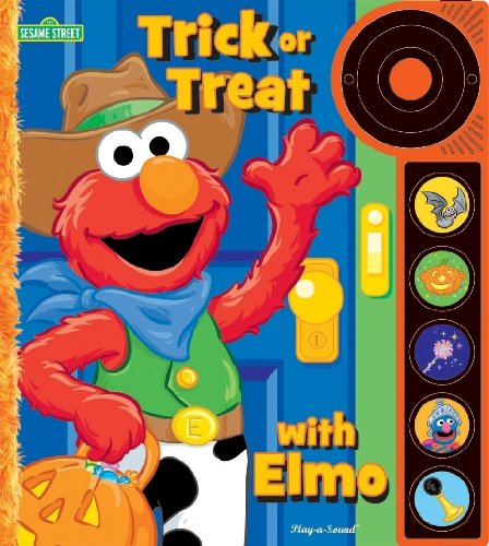 [Sesame Street Doorbell Sound Book: Trick or Treat with Elmo] (Halloween Sesame Street)