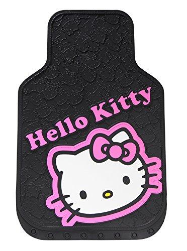 Plasticolor ajuste universal hello kitty Collage alfombrilla de piso