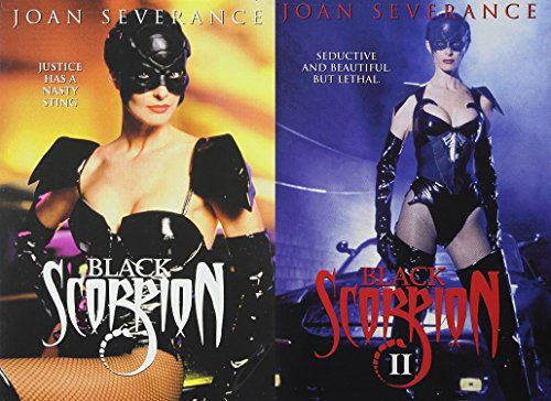 Black Scorpion Double Feature: Black Scorpion & Black Scorpion II - 2-Movie Bundle starring Joan Severance