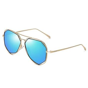 ZXW Gafas de Sol- Gafas de Sol Mujer polarizada Moda Cara ...