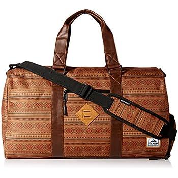 Steve Madden Men's Overnighter/Duffle Bag, Tobacco Aztec