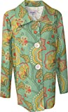 3 Sisters Swing Jacket Dressy A-Line Designer Summer - Small Green