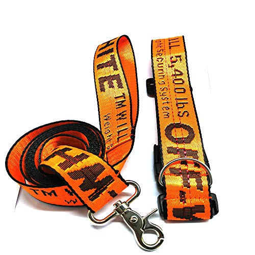Dog Adjustable Pet Dog Cat Pet Safety Belt Personalized Collars and Seatbelts for Collars and Seatbelts petMainstream collarPet Collar Traction Rope(,include collar,Seatbelts,haulagecable) (orange)