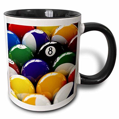 3dRose mug 154988 4 Colorful Billiard Balls