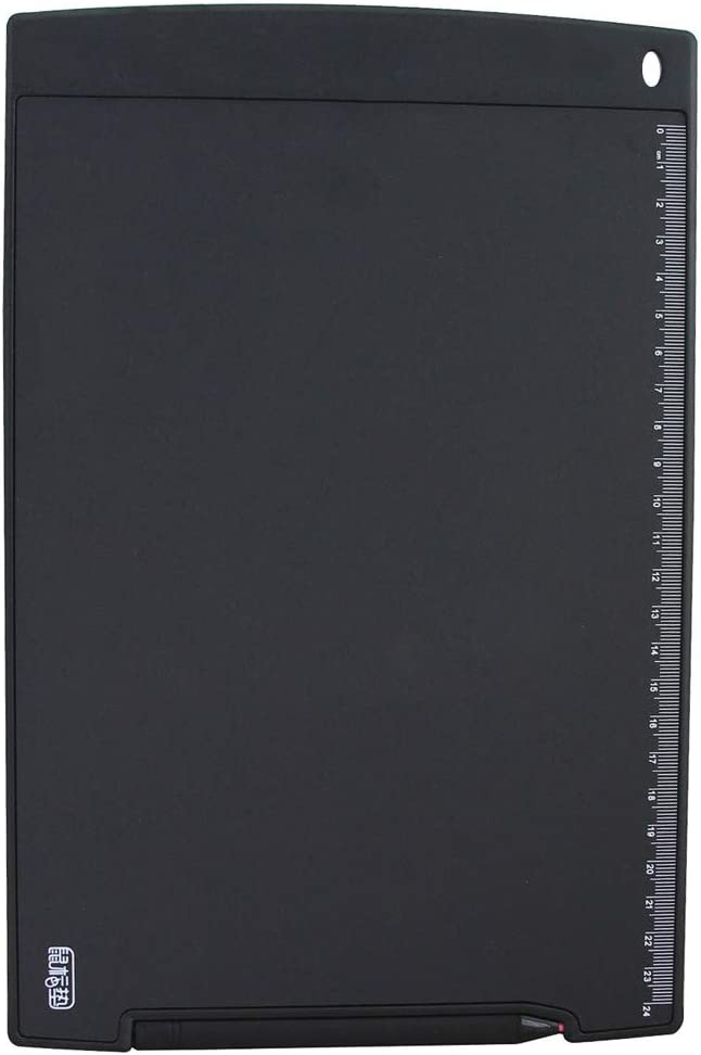 Color : Black Black Electronics Howshow 12 inch LCD Pressure Sensing E-Note Paperless Writing Tablet//Writing Board