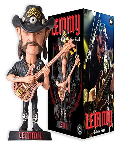 Lemmy Kilmister Bobble Head Novelty 3 x 7in