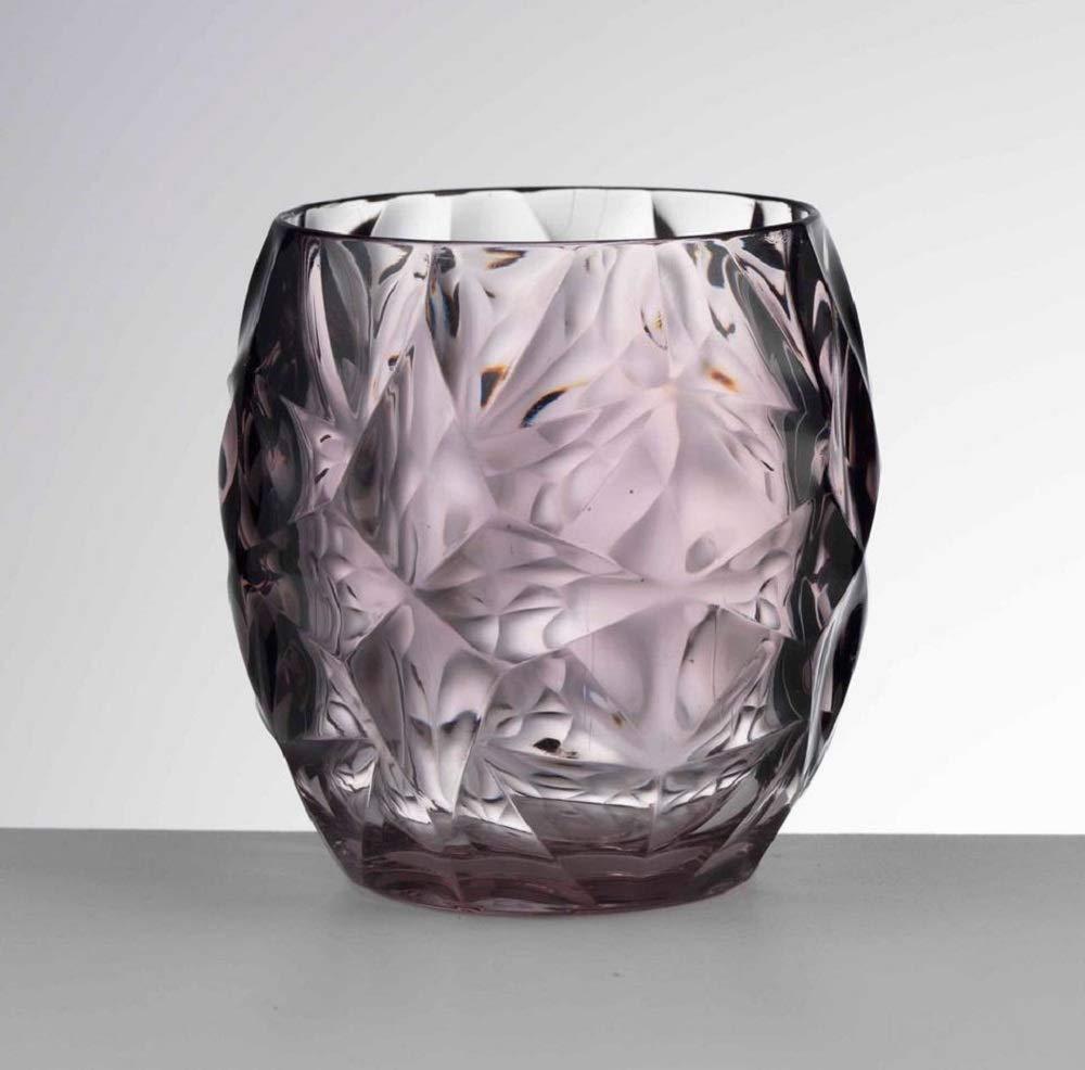 Mario Luca Giusti Set 6 Venezia Glass Smoke-Grey