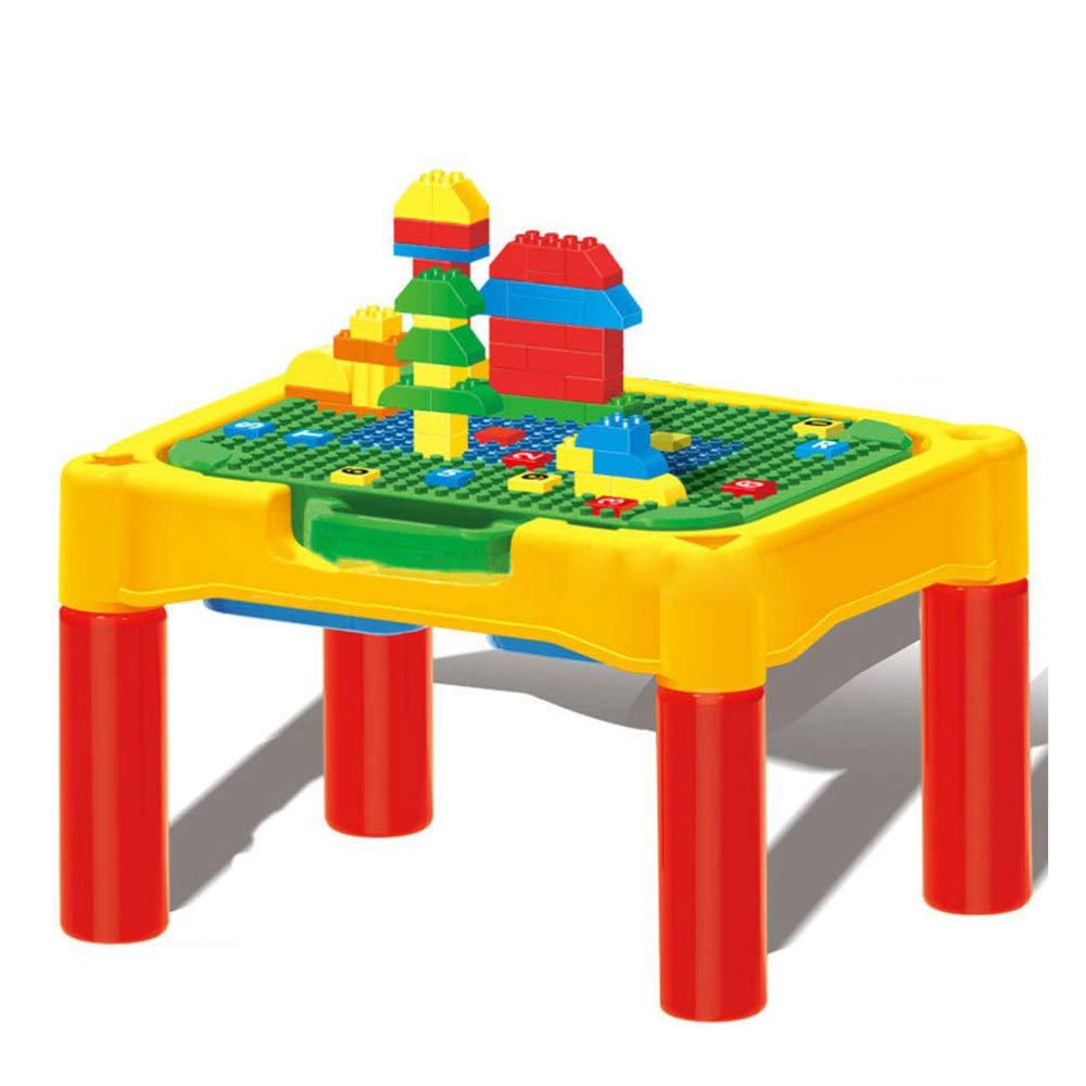 DYMAS Intellektuelles Spielzeug Multi-Funktions-Puzzle Rechtschreibung Schreibtisch mit Stuhl