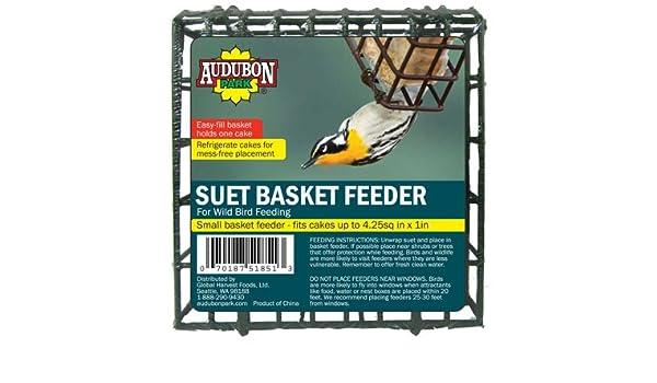 Audubon Park 12331 Suet Cake Basket Feeder