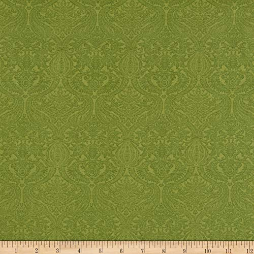 - Benartex Lilacs in Bloom Damask Light Green, Fabric by the Yard