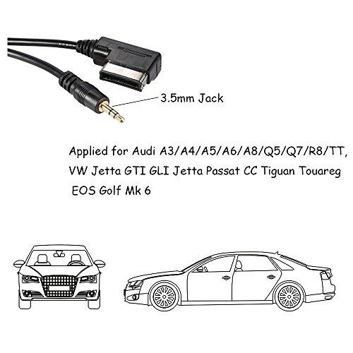 Tabiger Portable Music Interface Ami Mmi Aux Adapter Cable: TurnRaise Portable Music Interface AMI MMI AUX Adapter