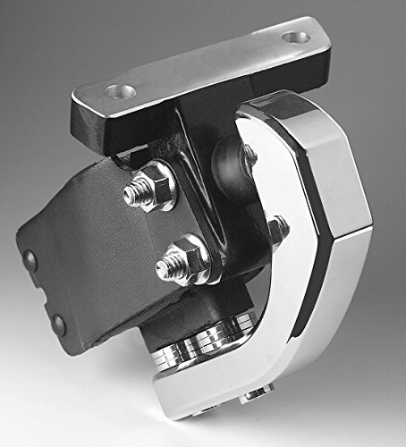 0316 Billet Front Motor Mount Stabilizer - Chrome (Chrome Billet Motor Mount)