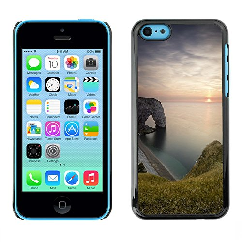 Hülle Case Schutzhülle Cover Premium Case // F00003383 Küste // Apple iPhone 5C