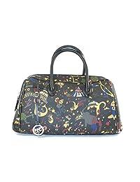 Piero Guidi Hand bag - Magic Circus black