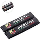 ABARTH アバルト 刺繍 シートベルト ショルダー クッション カバー パッド