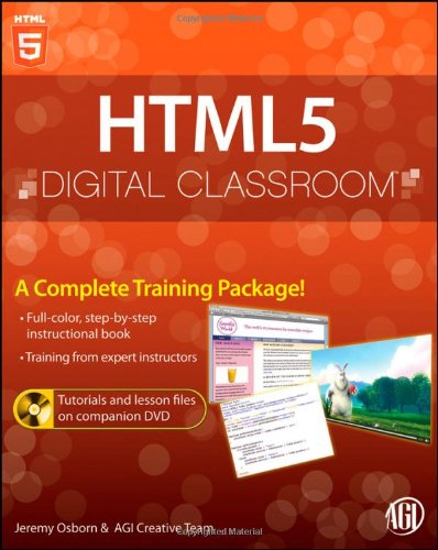[PDF] HTML5 Digital Classroom Free Download | Publisher : Wiley | Category : Computers & Internet | ISBN 10 : 1118016181 | ISBN 13 : 9781118016183