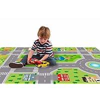 Tapete Ilustrativo Pista de Carros para Crianças