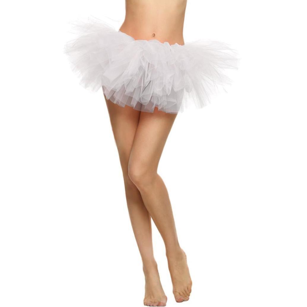 ❤️Xinantime Faldas de Tulle Falda corta de Cancan de las mujeres Retro Falda Rockabilly Traje de Danza Ballet Tutu Pettiskirt Traje de Carnaval Xinantime_3439
