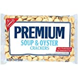 Nabisco, Premium Soup & Oyster Crackers, 9oz Bag (Pack of 6)