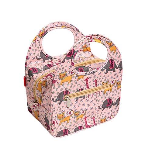 4db11e49d649 Garrelett Reusable Lunch Bags Totes Polyester waterproof Keep warm ...