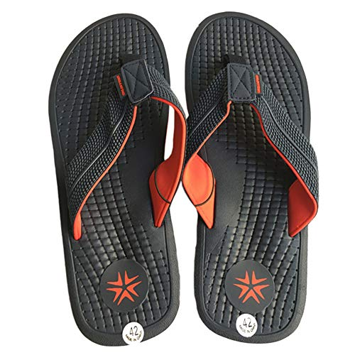 a3945bcbb hot sale 2018 URBANFIND Men's Classic Flip Flops Summer Light Weight Shower  Sandals Acupressure
