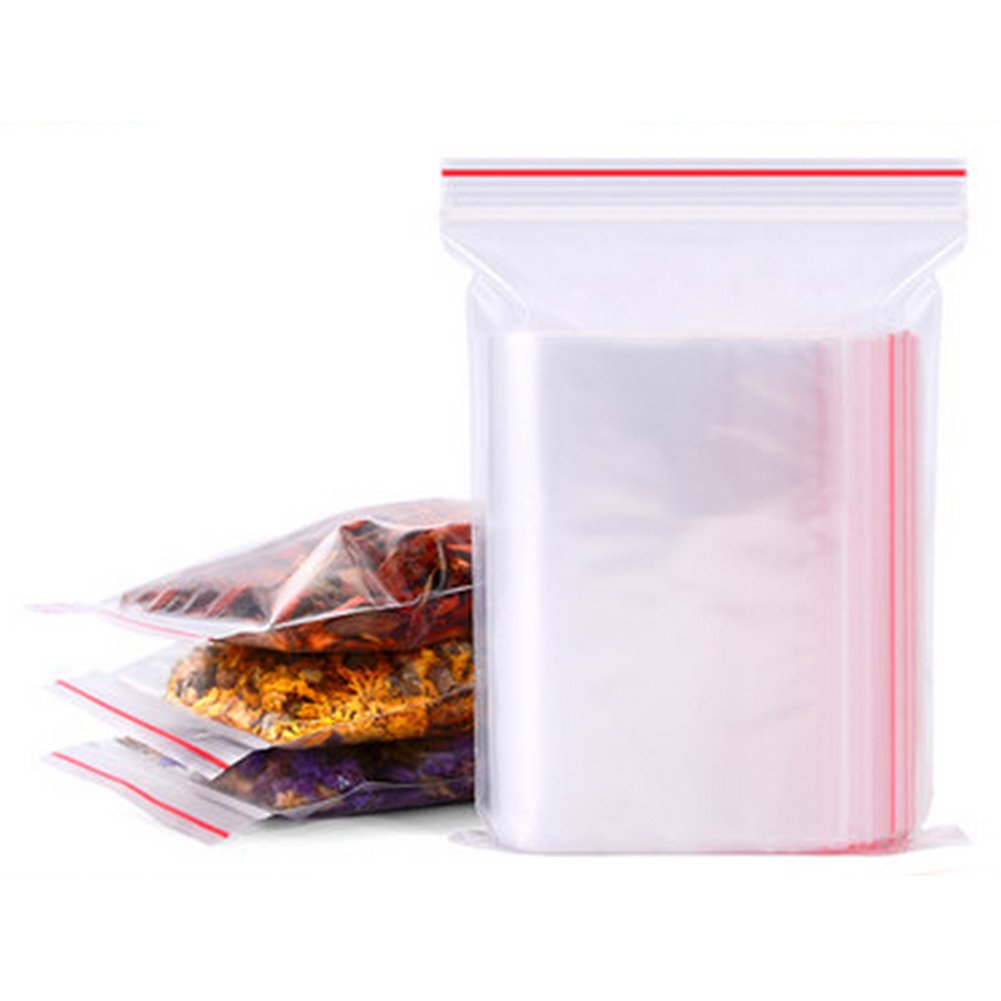 PE Transparent Jewelry Zip Lock Reclosable Plastic Poly Bags Ideal For Protecting, Sorting And Selling Bracelets, Necklaces, Larger Beads, Earrings And Other Items (4x6cm(100pcs),Transparent)