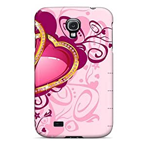 Flexible Tpu Back Case Cover For Galaxy S4 - Love Card Widescreen