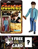 Mikey: Funko ReAction x The Goonies Action Figure + 1 FREE Classic Movie Trading Card Bundle (040789)