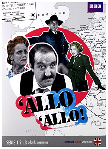 Allo 'Allo! (BOX) [18DVD] [Region Free] (English - Vicki Cooke