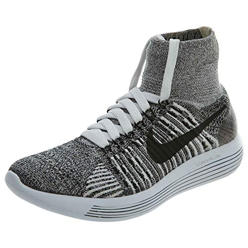 Flyknit Mujer Nike 101 para Black Wmns White de Lunarepic Zapatillas Running qFOFE
