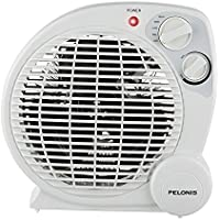 PELONIS HB-211T Portable Space Heater Model with Automatic Safety Shutoff and Energy Efficient Temperature Control 3 Heat Settings (600 W/900 W/1500 W)