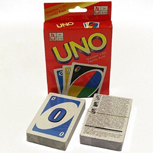プレミアム品質元Unoカードゲーム–子供おもちゃ(標準108Playing Cards )
