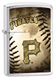 Zippo MLB Pittsburgh Pirates Brushed Chrome Lighter