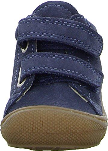 Naturino Halbschuh Velcro 3972 Jungen, Kleinkinderschuh mit Klettverschluss, blau