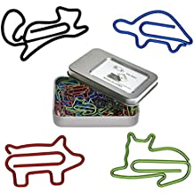 Cute Paper Clips for Animal Pet Lovers - Funny Cool Office Gift Birthday Gifts for Coworkers Women Men Teens Students