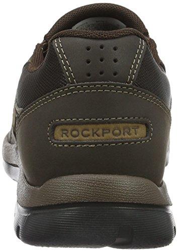 Rockport Gyk Slip ON, Mocassins Homme, Marron, 43 EU / 9.5 US