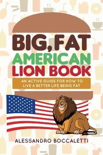 Big Fat American Lion Book
