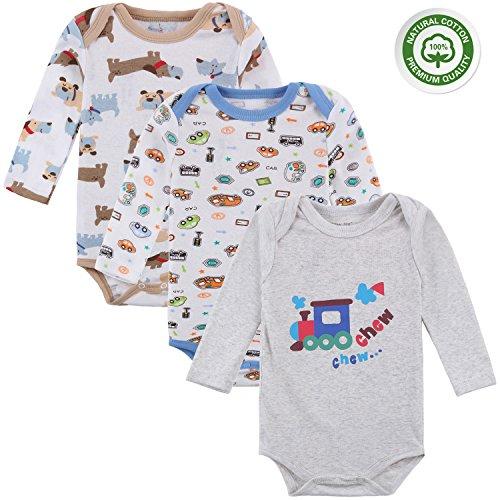 Mother Nest Baby Boy Bodysuits