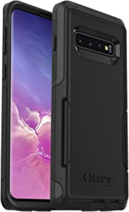 OtterBox COMMUTER SERIES Case for Galaxy S10 - Retail Packaging - BLACK (Renewed)