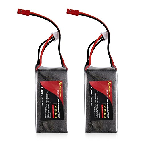 Powerextra 7.4v 1100mAh 2S 20C Lipo Pack HobbyKing RC Battery