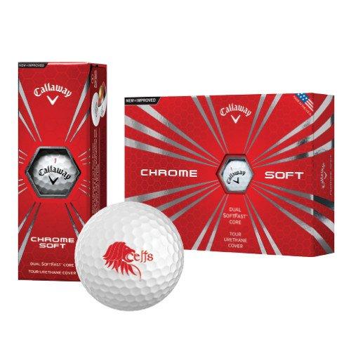 セントトーマスCallaway Chrome Softゴルフボール12 / Pkg 'ライオンヘッドW / Celts ' B01N90QOBM